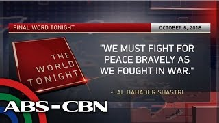 The World Tonight: The Final Word | October 6, 2018