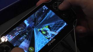 Gamescom 2011 Wipeout 2048 Vita gameplay