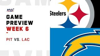 Pittsburgh Steelers vs. Los Angeles Chargers Week 6 NFL Game Preview