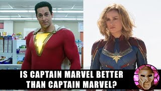 SHAZAM REVIEW!  Is Captain Marvel Better Than Captain Marvel?
