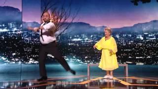 """""""La La Land"""" réinterprété par Jérôme Commandeur et Marthe Villalonga pendant les César 2017"""