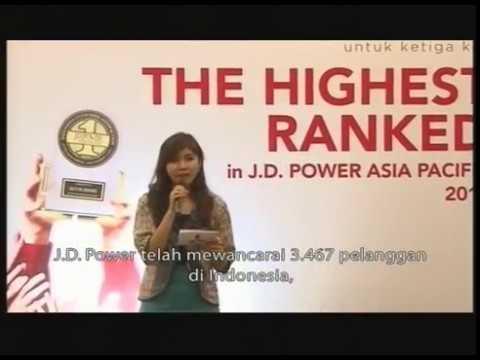 OTOBLITZ TV - Mitsubishi J.D. Power Asia Pacific 2014