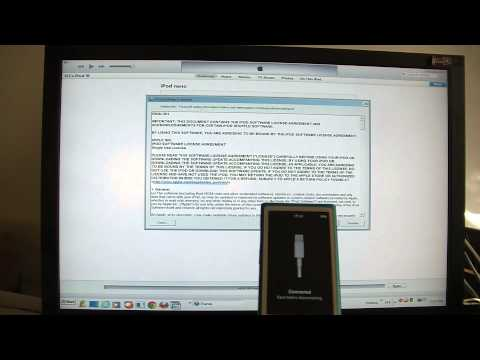 How To Restore A 7th generation ipod Nano To Factory Settings