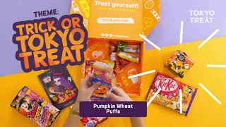 TokyoTreat October 2018 Japanese Candy Box Unboxing
