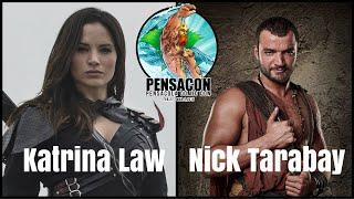 Arrow's Katrina Law and Spartacus' Nick Tarabay Pensacon 2015 Interview