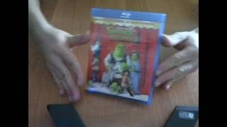 Shrek Trzeci Blu-ray Unboxing (odpakowywanie)