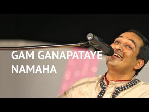 Om Gan Ganapataye Namo Namah - Ganesha Bhajan By Vikram Hazra video