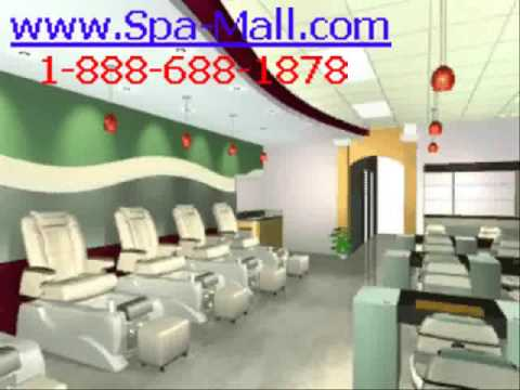 Nail spa salon design youtube for 10 over 10 nail salon