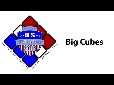 Kevin Hays How to Improve at Big Cubes Seminar - US Nationals 2015