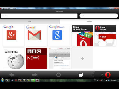 Internet gratis en PC  (Opera Mini) Agosto 2013