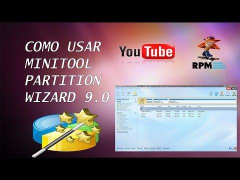 Como Usar Minitool Partition Wizard 9 0 Crear Y Eliminar Particiones Del Disco Duro