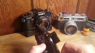 Available - Olympus Stylus Zoom DLX 35mm film compact camera