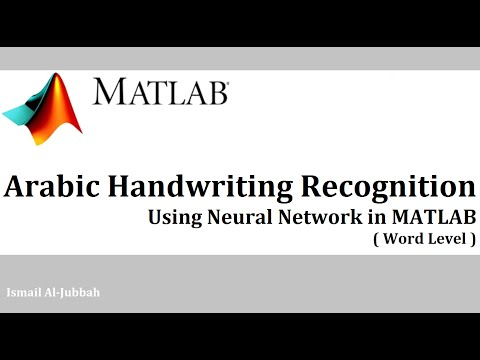 arabic handwriting recognition thesis