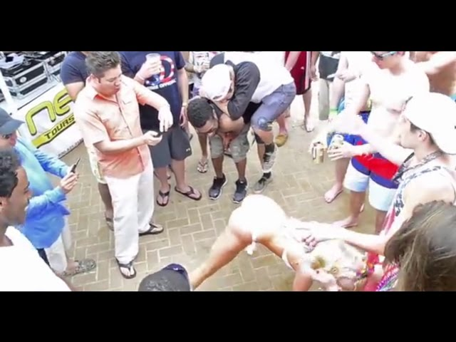 Spring Break Twerk by Inertia Tours bikini contest