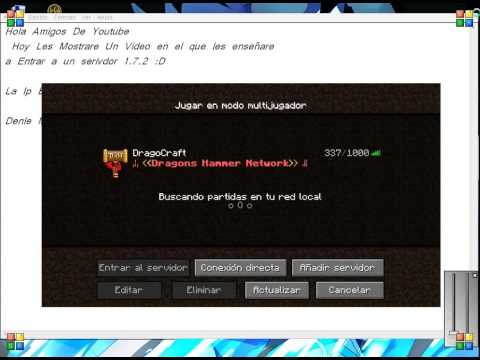 Ip De Server De Minecraft 1.7.2 (Hunger Games)