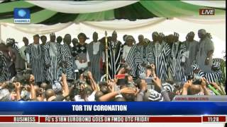 Coronation Ceremony Of New Tor Tiv In Gboko,Benue State Pt 7