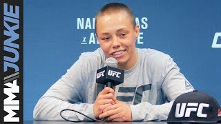 UFC 237: Rose Namajunas post-fight interview
