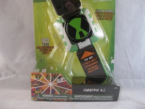 Ben 10 Omniverse Omnitrix A.I. Review