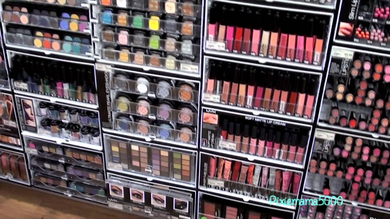 Mac cosmetics store layout