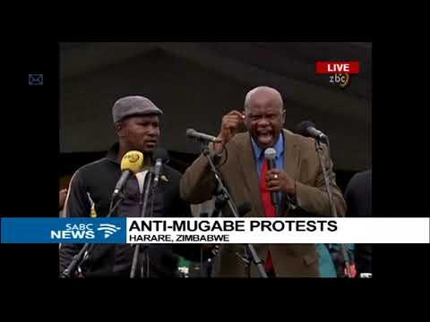 Anti Mugabe protests gain momentum in Harare and Bulawayo