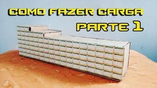 Como fazer carga impressa para miniaturas de Caminhão - Part 1