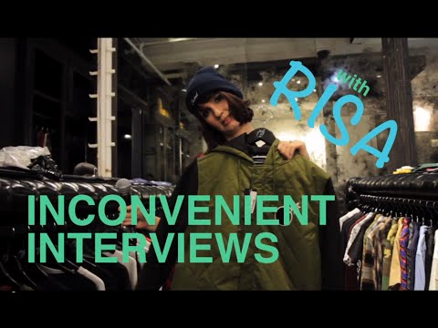 Inconvenient Interviews w/ Risa: Shopping w/ Jerrod Carmichael