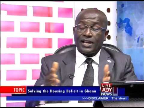 Solving the Housing Deficit in Ghana - PM Express on Joy News (4-9-13)