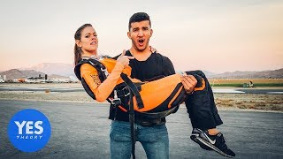 Asking Strangers to go Skydiving on the Spot!!