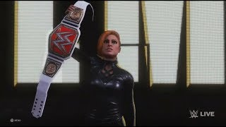 Becky lynch Entrance WWE 2K20