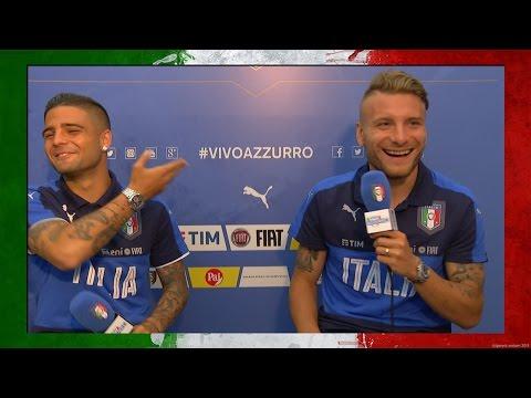 Immobile vs Insigne: chi conosce meglio l'altro? - EURO 2016