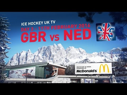 Team GB in Cortina - Day 03 - Great Britain v Netherlands