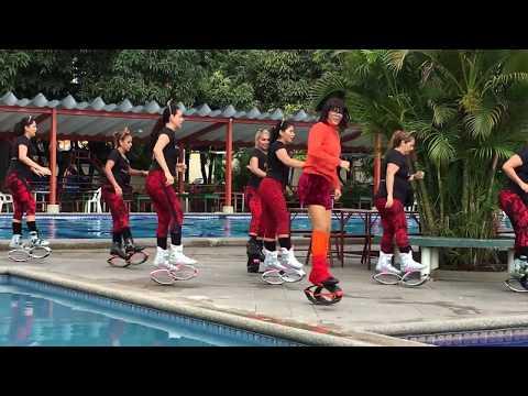 kangoo Dance SCOOBY DOO PA PA by ROSIBELL CALERO ( Guayaquil - Ecuador ) VIDEO 1