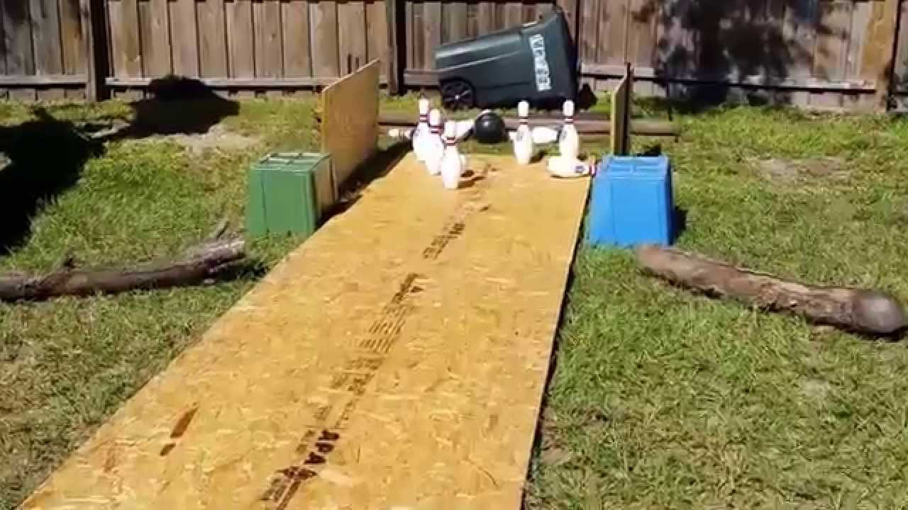 Backyard Bowling - YouTube