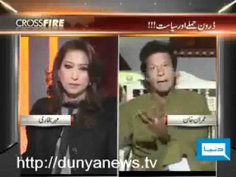 Imran Khan shuts up Mehar Bukhari - Brilliant Response!!!!