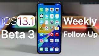 iOS 13.1 Beta 3 - Follow Up