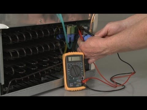 Refrigerator Not Making Ice? Water Inlet Valve Test – Fridge Repair
