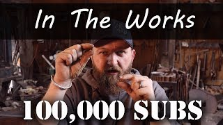 Forging an Edge Wrapped Dagger - 100k Subs