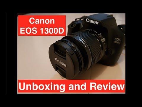 Canon 1300D  Unboxing And Full Reviews (watch till the end )