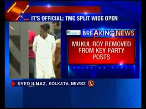 Mukul Roy removed from key party post in TMC