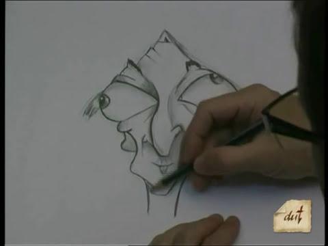 Como dibujar caricatura 2