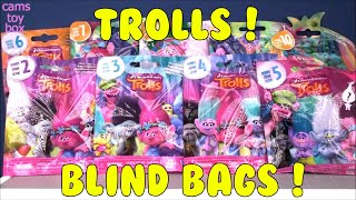 Trolls Blind Bags SERIES 2 3 4 5 6 7 8 9 10 OPENING Dreamworks TOYS