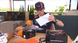 Prijswinnaars van de unieke Oostenrijkse race-items van Max Verstappen bekend!