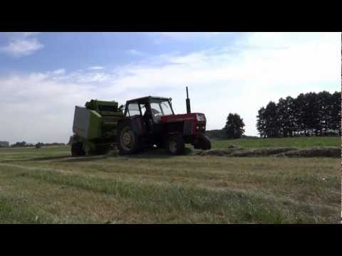 Sianokosy 2012 [HD] Wielkopolska - Ursus 1201 & Claas Variant 180 Roto Cut