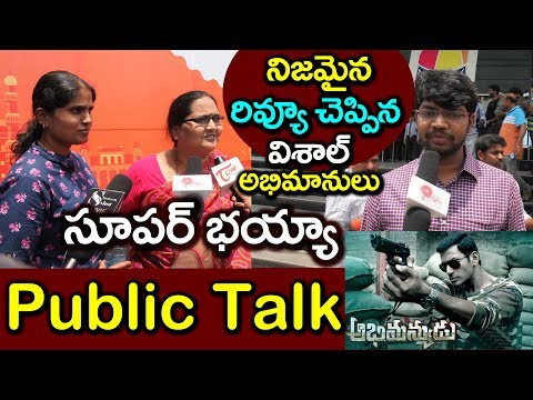 Abhimanyudu Telugu Movie Genuine Public Talk | Abhimanyudu Movie Review | Vishal #9RosesMedia
