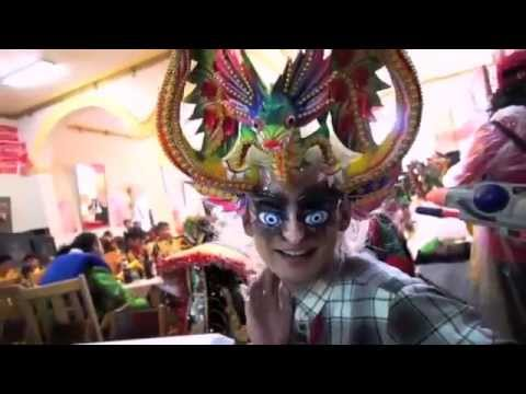 CARNAVAL DE ORURO en la TV China