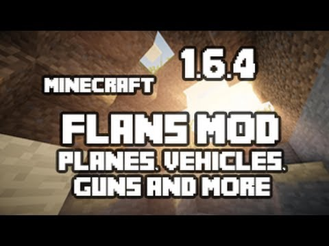 How To Install Flan's Plane Mod Minecraft 1.6.4