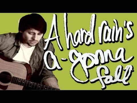 A Hard Rain's A Gonna Fall - Marshall and Sarah Music Videos
