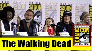 The WALKING DEAD   Comic Con 2019 Full Cast Panel (Danai Gurira, Norman Reedus, Melissa McBride)