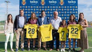 El Villarreal y Teika apoyan al fútbol femenino