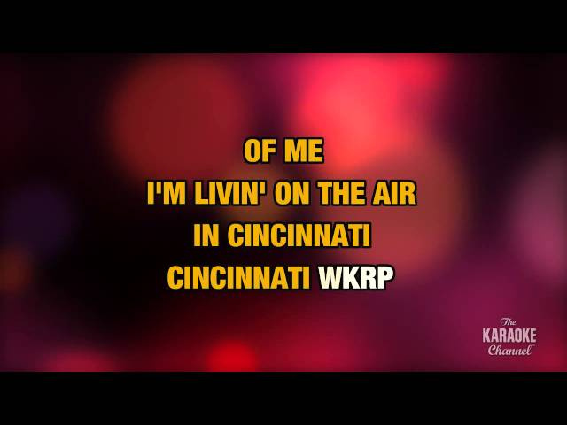 "WKRP In Cincinnati in the Style of ""Ash King, Shilpa Rao, Shekhar Ravjani"" (no lead vocal)"
